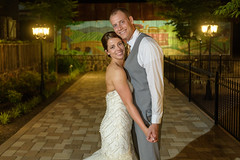 Bride and Groom (Matthew D. Hodges) Tags: nikond5 centreville virginia profotoa1 wedding bullrunwinery brideandgroomnightshot weddingphotography virginiawedding weddingwinery winery
