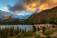 Many Glacier (Marc Haegeman Photography) Tags: manyglacierhotel manyglacier montana usa glaciernationalpark nikon marchaegemanphotography tourism nationalparksusa sunrise morning hotels