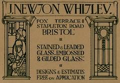 J. Newton Whitley. Glass Designs 1930 (growlerthecat) Tags: glass glazing newtonwhitley leaded stainedglass