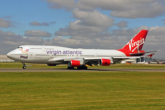 G-VROS 2 Boeing 747-443 Virgin Atlantic Airways MAN 05JUL19 (Ken Fielding) Tags: gvros boeing b747443 virginatlanticairways aircraft airplane airliner jet jetliner jumbojet aviation widebody