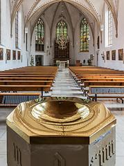 St. Lambertus in Hoetmar (ulrichcziollek) Tags: münsterland hoetmar lambertus kirche kirchenschiff taufstein gotik gotisch