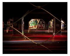 Nightmare on Krog Street. (internationalnate) Tags: longexposure atlanta urban canon georgia photography atl urbanexploration lighttrails m50 lighttrail canonm50 street landscape framing exploration urbanphotography mirrorless