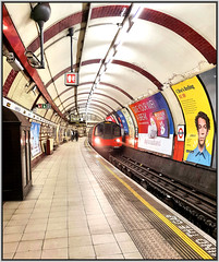 Hampstead (R~P~M) Tags: train railway tube londonunderground transportforlondon hampstead london england uk unitedkingdom greatbritain