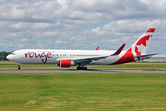 C-FMXC Boeing 767-333ERW Air Canada Rouge MAN 05JUL19 (Ken Fielding) Tags: gfmxc boeing b767333erw aircanadarouge aircraft airplane airliner jet jetliner widebody aviation