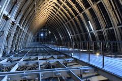Charpente en béton de la cathédrale de Reims (frediquessy) Tags: architecture béton reconstruction charpente reims cathédrale marne comble voûte perspective henrideneux