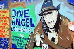 Dave Angel (Benn Gunn Baker) Tags: st pauls carnival 019 benn gunn baker canon 550d t2i bristol graffiti eco warrior