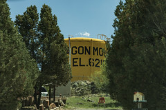 Wagon Mound, New Mexico (BeerAndLoathing) Tags: watertower spring canonrf24105mmf4lisusm rp newmexicotrip santafetrail wagonmound newmexico usa canoneosrp trips canon 2019 roadtrip april
