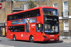 LA68 DXW (VMH2548) Metroline London (hotspur_star) Tags: londontransport londonbuses londonbus londonbuses2019 mcvvolvoevoseti tfl transportforlondon hybridbus hybridtechnology busscene2019 doubledeck metrolinelondon la68dxw vmh2548 134