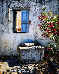 Old Window Lindos Rhodes (scottwalters6) Tags: lindos rhodes greece travel photography photo smartphone leica huawei p20pro