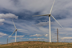 Wind Turbines from I25 Near Pueblo, Colorado (BeerAndLoathing) Tags: spring canonrf24105mmf4lisusm rp newmexicotrip trips windturbines usa colorado canoneosrp windmill canon 2019 roadtrip april