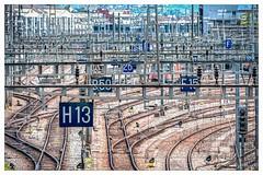 'Entangled' (Pyc Assaut) Tags: smileonsaturday entangled lagaredecornavin genève rail railway train cables électrique electric enchevêtré emmêler crusscross pyc5pycphotography pycassaut pierreyvescugni pierreyvescugniphotography extérieur city ville suisse switzerland swiss chemindefer station nikon nikond7100