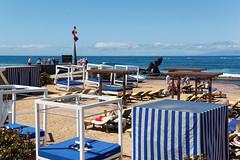 Playa Las Americas, Santa Cruz de Tenerife, Canary Islands, Spain (wildhareuk) Tags: canaryislands canon canoneos500d people sand sea seascape spain sunbed tamron18270mm tenerife tenerife2019 water balibed blue tamron img9484dxo