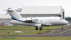 LVCCW Challenger 605 Condor Express (Anhedral) Tags: lvccw canadair bombadier cl605 challenger bizjet