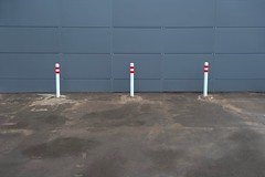 (Kirill Dorokhov) Tags: wall facade contemporaryart poles minimalism