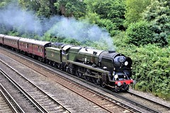 35018 British India Line (stavioni) Tags: merchant navy class 35018 british india line steam train rail railway locomotive main bournemouth belle