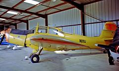 9Q-CRJ   Morane-Saulnier MS.733 Alcyon [72] Auch-la-Mothe~F 20/09/1982 (raybarber2) Tags: 72 9qcrj abpic airportdata cn72 cancelled democraticrepublicofcongo filed flickr lfdh planebase raybarber single slide wfu zairecivil