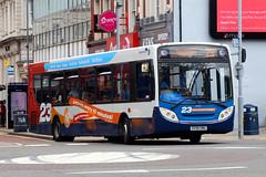 GX58 GMU, Stanhope Road, Portsmouth, June 16th 2017 (Southsea_Matt) Tags: gx58gmu 27557 route23 commercialroad portsmouth hampshire unitedkingdom england canon 80d 24105mm june 2017 summer bus omnibus vehicle passengertravel publictransport alexanderdennis adl enviro300 e300 stagecoachhampshire southdown