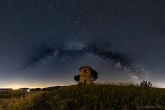 Milky Way over Tuscany (bjoernahrensfotografie) Tags: astro astrophotography astrofotografie milkyway milchstrase night sky starry stars sterne sternenhimmel himmel toscana tuscany toskana italien italy italia bibbona canon canoneosr