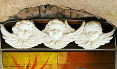 Sole e Luna - part 1 (cienne45) Tags: carlonatale cienne45 natale italy liguria valloria imperia dolcedo borgo borgomedievale village medievalvillage painted dipinto disegno artisti door doors tür türen tor tore porte porta portas puerta puertas portecolorate portedipinte painteddoors soleeluna barbarapelosi