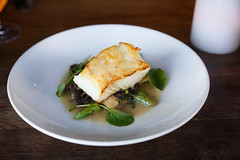 alaskan halibut (embem30) Tags: restaurants mkt food