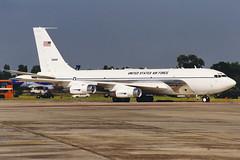 "Boeing C-135C ""Speckled Trout"" 61-2669 412th Test Wing (Mark McEwan) Tags: boeing c135 c135c 612669 speckledtrout 412thflighttestsquadron 412thtestwing aviation aircraft airplane military riat riat1999 raffairford royalinternationalairtattoo usaf unitedstatesairforce usairforce"