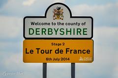 Le Tour 2014 (pygarian_nox) Tags: tour de france derbyshire race cycle 2014 holme moss sign post