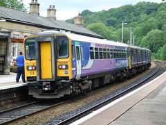 153359 & 150106 - Todmorden, West Yorkshire (The Walsall Spotter) Tags: todmorden west yorkshire railway station northernrail class150 sprinter 150106 class153 dmu 153359 chester uk diesel multipleunit britishrailways networkrail dogbox