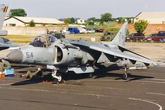 McDonnell Douglas AV-8B+ Harrier II 165001 'YM-54' HMM-365 (Mark McEwan) Tags: mcdonnelldouglas av8b harrier harrierii 165001 hmm365 usmarinecorps unitedstatesmarinecorps usmc aviation aircraft airplane military riat riat1999 royalinternationalairtattoo raffairford