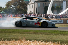 Mad Mike - Nimbul ({House} Photography) Tags: goodwood fos festival speed chichester car show automotive drift smoke tyres smoking housephotography timothyhouse canon 70d redbull mad mike whiddett nimbul lamborghini huracan liberty walk