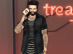 #187 - Game Over (by Blog: Male Fashion Modern) Tags: madamenoir men photo style secondlife pose
