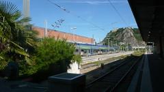 Cherbourg - La Gare (jeanlouisallix) Tags: cherbourg cotentin normandie france soleil gare train ter sncf rail chemin de fer