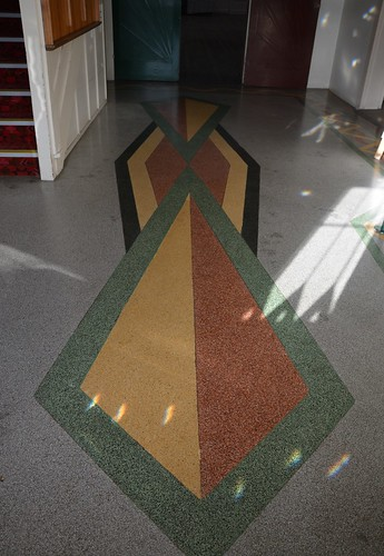 Lobethal Centennial Hall Terrazzo In The Foyer Adelaide