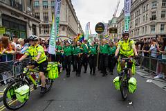 Pride in London 2019 (Mikepaws) Tags: lgbt gay procession pride prideinlondon love equality humanrights celebration centrallondon parade 2019 summer ambulance paramedics nhs
