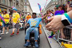 Pride in London 2019 (Mikepaws) Tags: lgbt gay procession pride prideinlondon love equality humanrights celebration centrallondon parade 2019 summer wheelchair