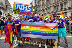 Pride in London 2019 (Mikepaws) Tags: lgbt gay procession pride prideinlondon love equality humanrights celebration centrallondon parade 2019 summer rainbowflag nhs