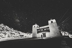 Adobe Church, New Mexico ([ raymond ]) Tags: acoma astro astrophotography church me milkyway newmexico night selfportrait stannemission