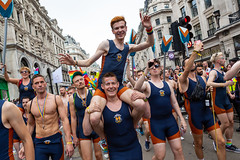 Pride in London 2019 (Mikepaws) Tags: lgbt gay procession pride prideinlondon love equality humanrights celebration centrallondon parade 2019 summer londonotters rowing