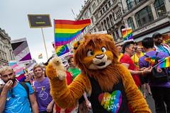 Pride in London 2019 (Mikepaws) Tags: lgbt gay procession pride prideinlondon love equality humanrights celebration centrallondon parade 2019 summer rainbowflag londonfurs furryfandom furry
