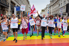 Pride in London 2019 (Mikepaws) Tags: lgbt gay procession pride prideinlondon love equality humanrights celebration centrallondon parade 2019 summer rainbowflag protest