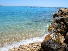 2019_lsnape_Mediterranean_CostaBlanca_Altea_beach_sea_rocks_DSCF2790 (Star Rocker) Tags: spain costablanca mediterranean altea sea beach rocks shallowwater tide coast clearsea
