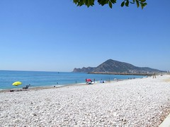 2019_lsnape_Mediterranean_CostaBlanca_Altea_beach_DSCF2777 (Star Rocker) Tags: spain costablanca mediterranean altea sea beach pebbles coast bay holiday tourism
