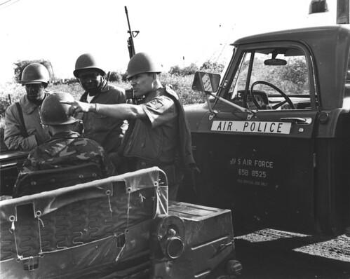 U.S. Air Force Air Police in South Vietnam
