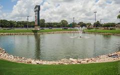 Market Place, New Braunfels, TX 78130, USA, August 2007 (photobankmd) Tags: 78130 marketpacenewbraunfels fountain marketplace newbraunfels pond texas tx unitedstates usa ньюбраунфелс пруд соединенныештаты соединенныештатыамерики сша фонтан