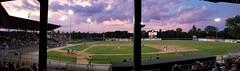 Danville Stadium (army.arch) Tags: danville illinois il stadium baseball field evening midwest