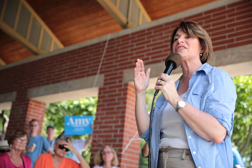Amy Klobuchar by Gage Skidmore, on Flickr