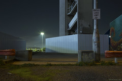 Docklands - Melbourne (Ranga 1) Tags: melbourne melancholy night nightphotography docklands north wharf canon canoneos5dmarkiii ef24105mmf4lusm lonely still stillness minimalism minimalist australia urbanlandscape blue surrealism industrial explore