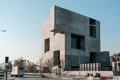 The Solid and Void (Black-Brick) Tags: chile santiago architecture design concrete urban city university alejandro aravena buildings texture space windows volume solid void office light shadow window balcony winter material blocks cube abstract