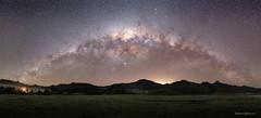 Milky Way over The Pinnacles (hakannedjat) Tags: thecoromandel thepinnacles coromandel newzealand nz milkyway astro astrophotography astroscape stars nightsky sony sonynz sonya7rii a7rii