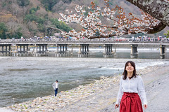 arashiyama (Flutechill) Tags: arashiyama travel traveldestinations tourist nature nationallandmark kyotoprefecture kyoto japan japaneseculture spring cherryblossom sakura landscape landmark exploring katsurariver