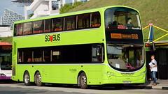Go-Ahead Volvo B9TL - SBS3447B (javeleebx) Tags: goahead singapore volvo b9tl wright eclipse gemini 2 sbs3447b express 518